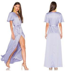 NWT Privacy Please Lavender Kimono Maxi Dress